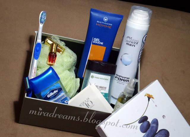 Box soins pour hommes cadeau