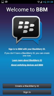 Update BBM Android v2.7.0.20 Apk