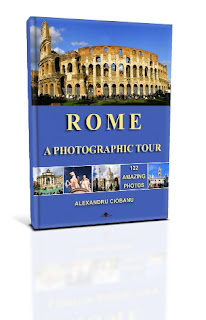 Rome a photographic tour book cover by Alexandru Ciobanu