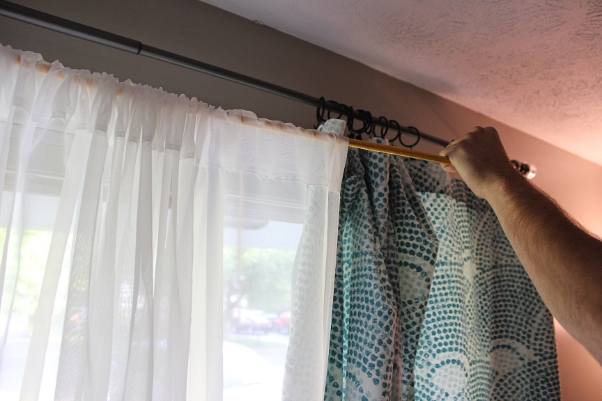 Curtain And Sheers On Same Rod Roselawnlutheran