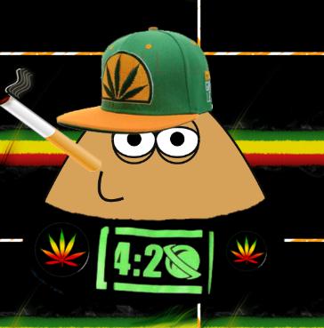 Pou Hacker 1 4 38 Mod Reggae 4 20 Alvo Android