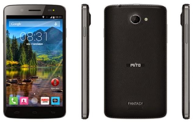spesifikasi smartphone Mito fantasi U60, inilah harga mito fantasi U a60, kelebihan smartphone mito fantasi u