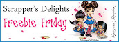 Scrappers Delight Friday Freebie DT