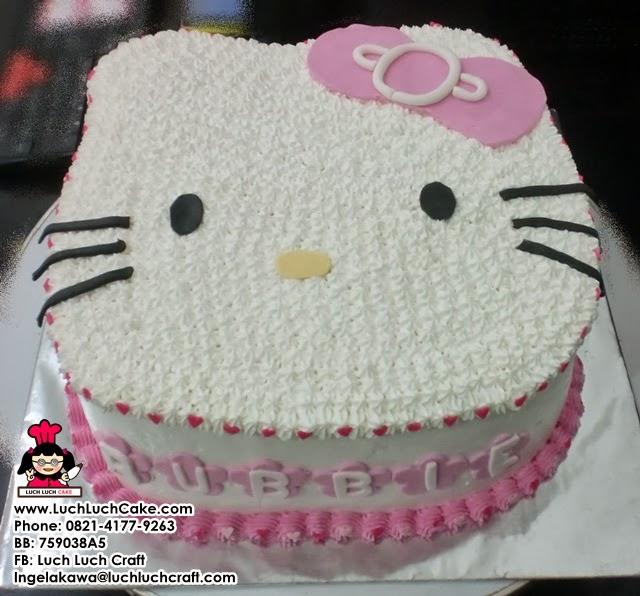 Kue Tart Hello Kitty 3D Daerah Surabaya Sidoarjo