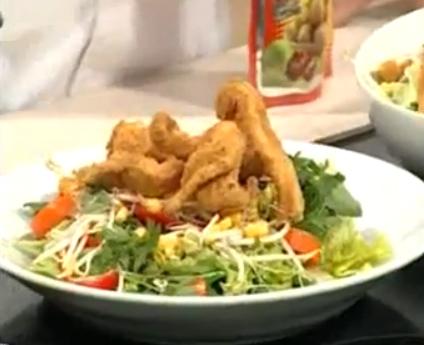 Tavuk Şinitzel ve Patates Salatası Nasıl Yapılır - Videolu Tarifi