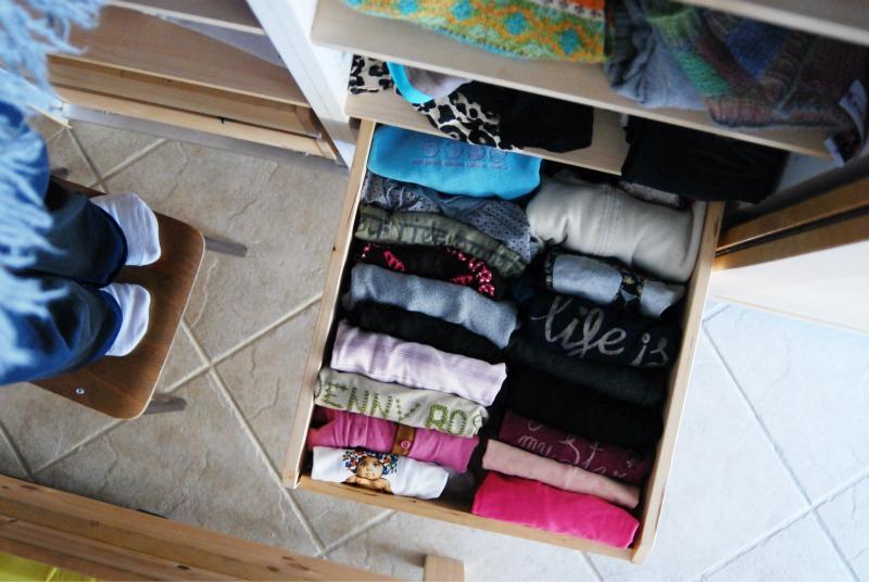 riordinare i cassetti