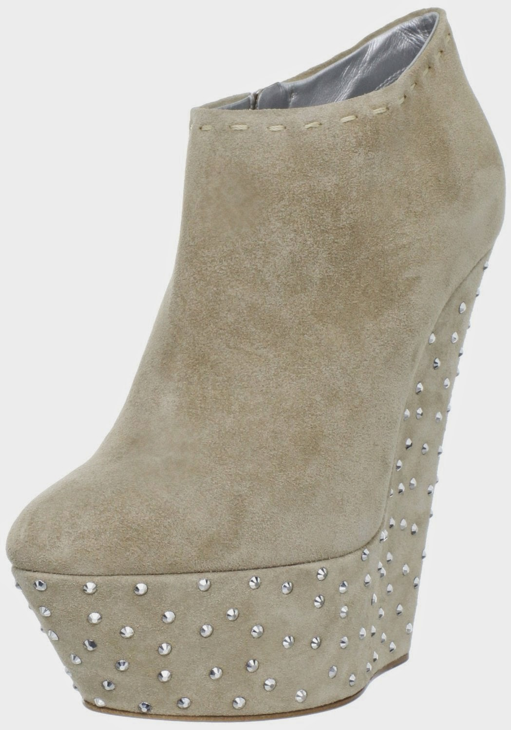 Giuseppe Zanotti Women's Crystal Bottom Wedge Bootie