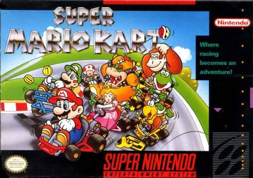 Super Mario Kart Super Nintendo
