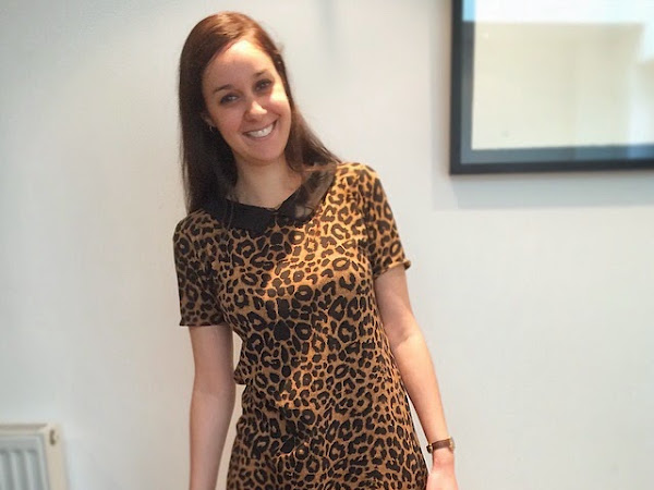 The leopard print dress