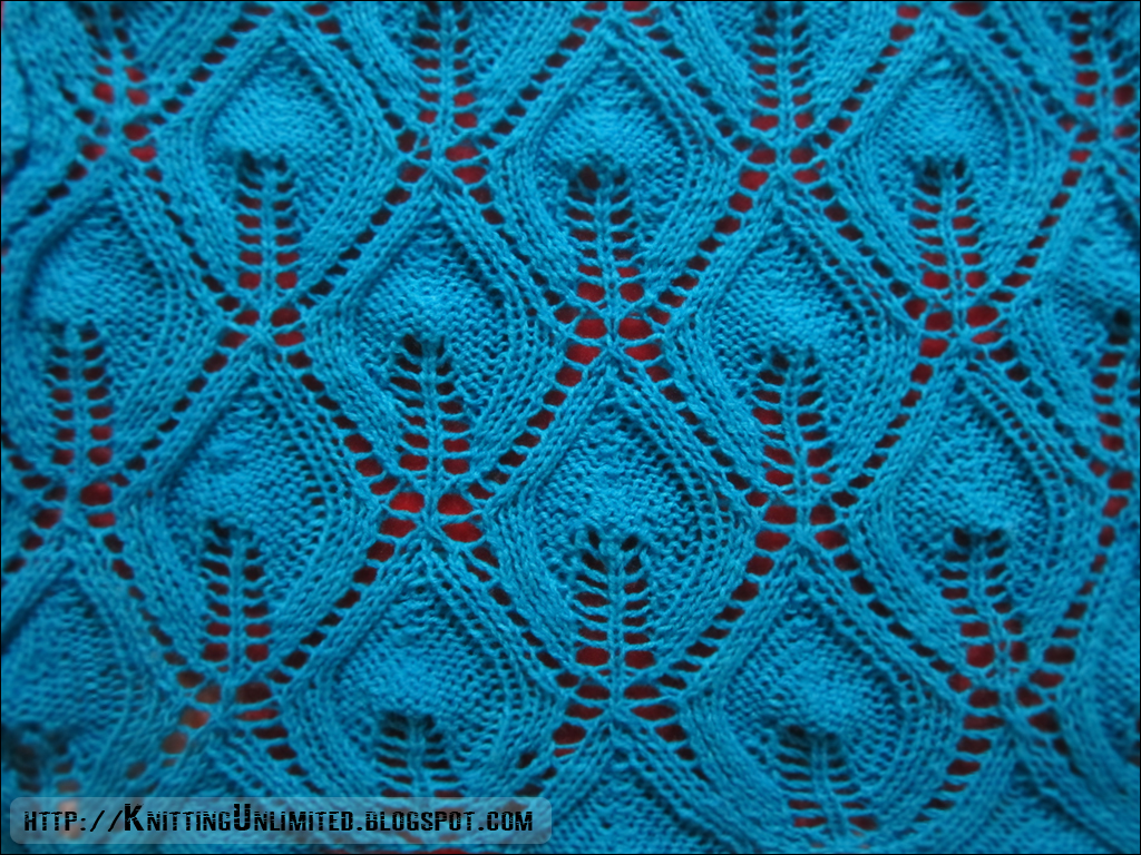 Knitting Pattern Lace Design : Lace Knitting Pattern 8: Candle Flame - Knitting Unlimited