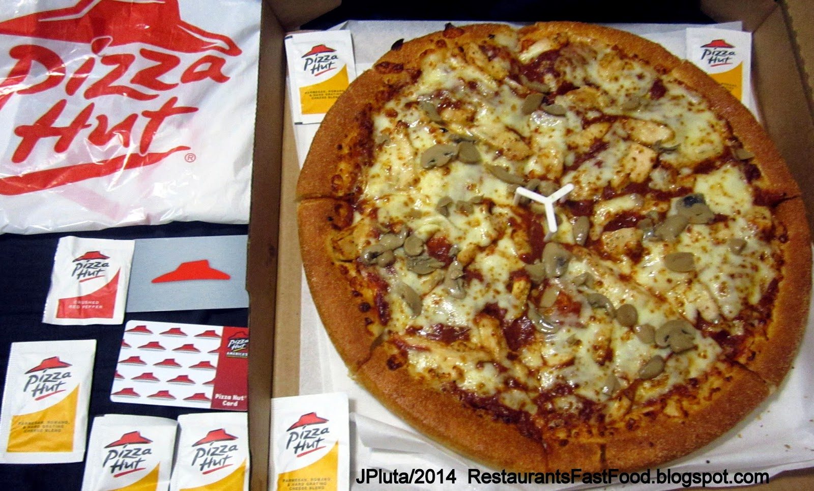Pizza hut coupons large pizza and wings