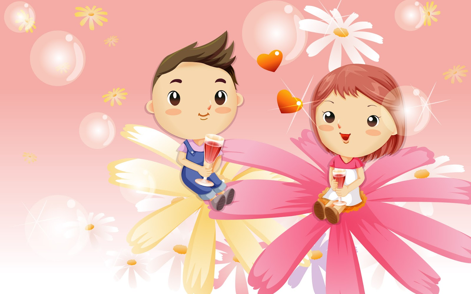 Love Wallpapers Of cartoons : cartoon Wallpapers: Best romantic cartoons wallpaper 2012
