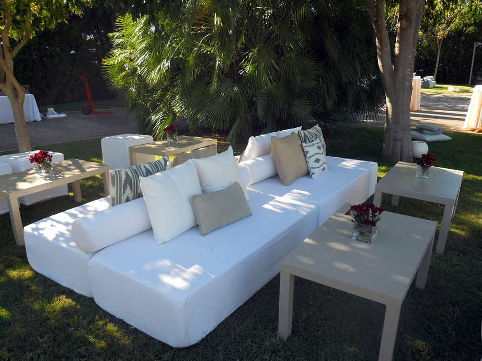 Eres eventos zona chill out para el jard n - Fotos chill out ...
