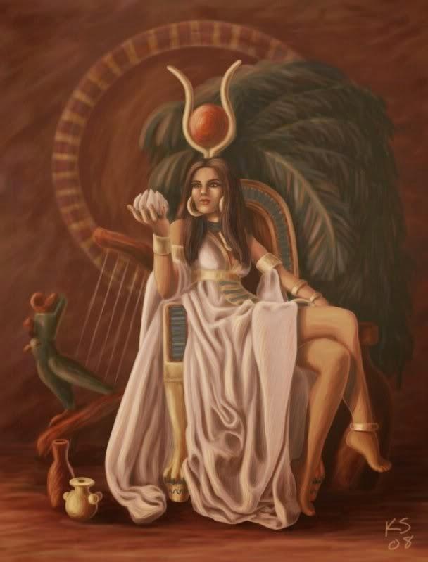Resultado de imagem para hathor deusa do egito