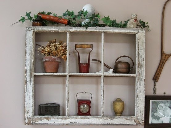 http://adventuresofamiddlesister.blogspot.ca/2012/07/diy-vintage-window-frame-shelf.html