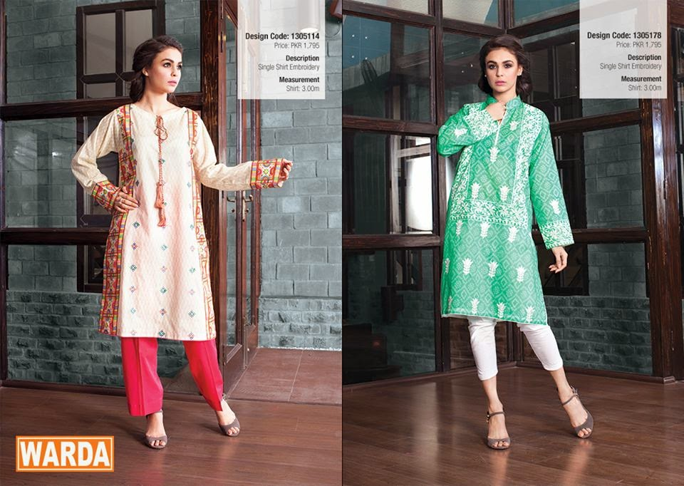 Warda summer lawn for women
