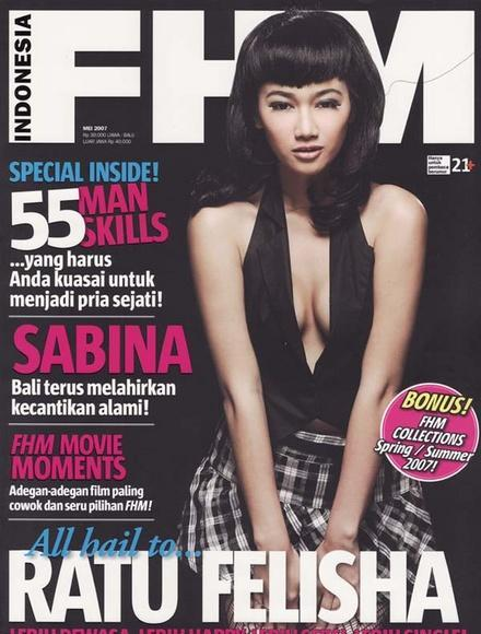 Foto Model Majalah Fhm Indonesia | Black Hairstyle and Haircuts