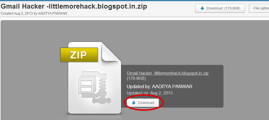 how to hack gmail account pdf