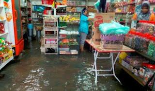Kampung Bako dilanda air pasang besar