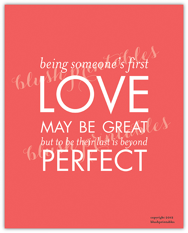 love may be great but to be their last is beyond perfect love quote