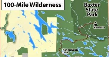 Appalachian Trail - 2014: Maine's 100 Mile Wilderness on