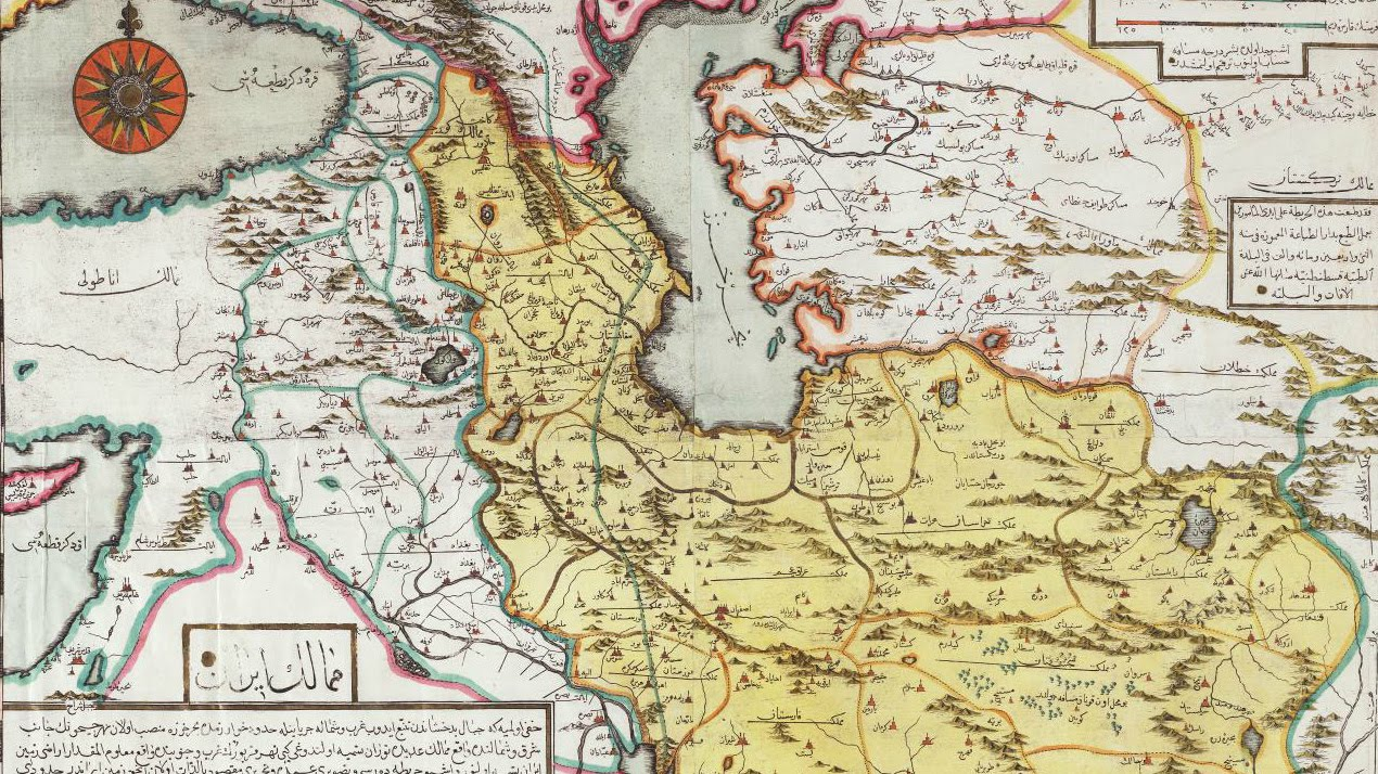 it is based in part on a map produced by homann in 1724 and can be compared with the seutter map above