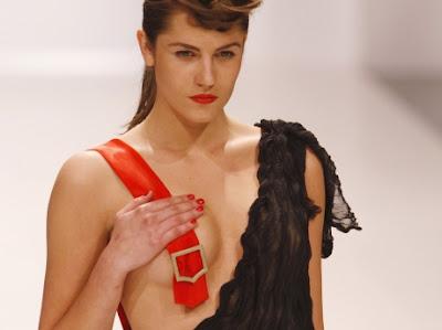 Fashion Model Wardrobe Malfunction