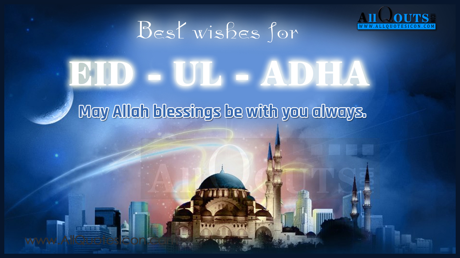 Best Greetings And Wallpapers Eid Ul Aadha Mubarak Quotes And