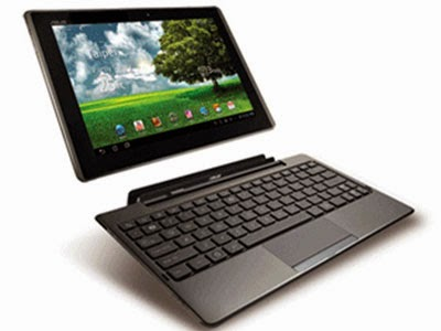ASUS Eee Pad Transformer - dock keyboard