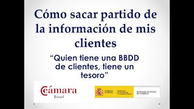 http://www.slideshare.net/anacristinaestebanbaranda/cmo-sacar-partido-de-la-informacin-clientes