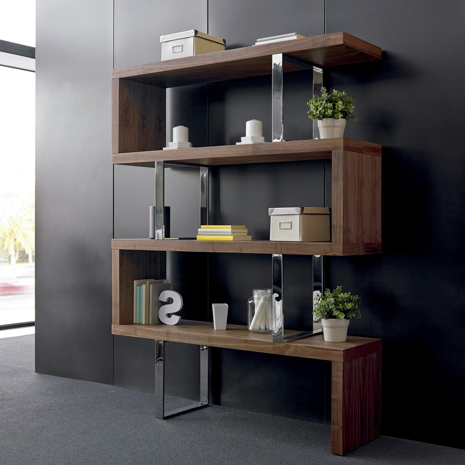 Muebles de sal n librerias para ordenar el salon - Libreria para salon ...