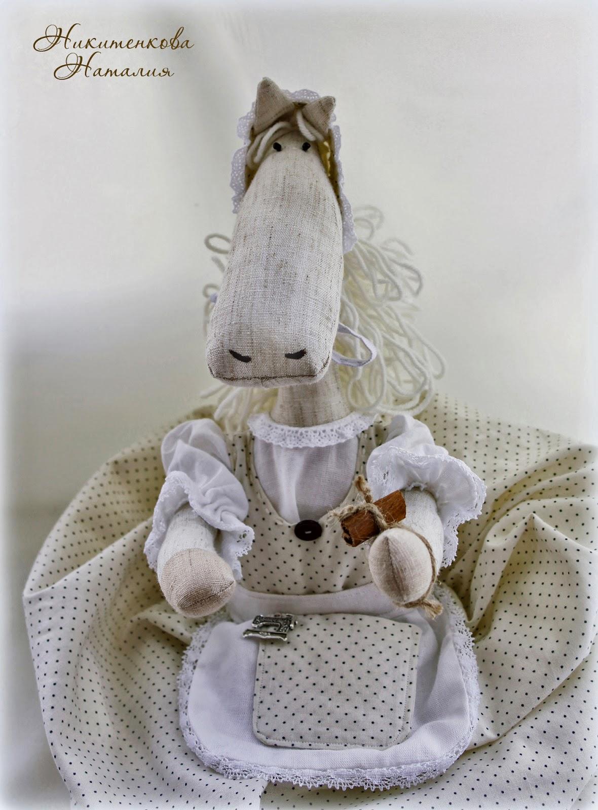 Лошадка пакетница для кухни, шитье, рукоделие