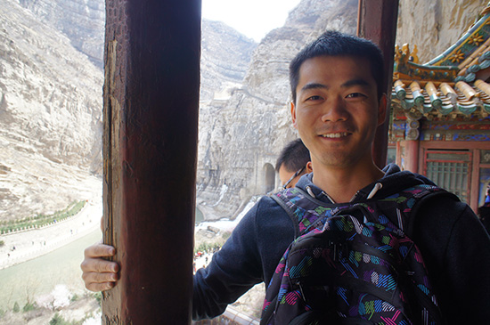 highlights from datong - Hanging Monastery