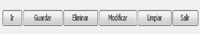 botones del formulario de una aplicacion java