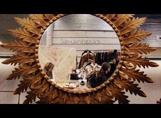 Espejo sunburst en la feria de desembalaje 2013 en el BEC-