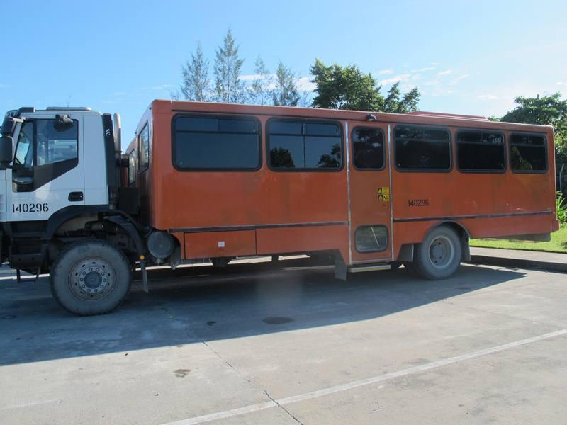 Hanya Ada Di Timika, Bus Anti Peluru! [ www.BlogApaAja.com ]
