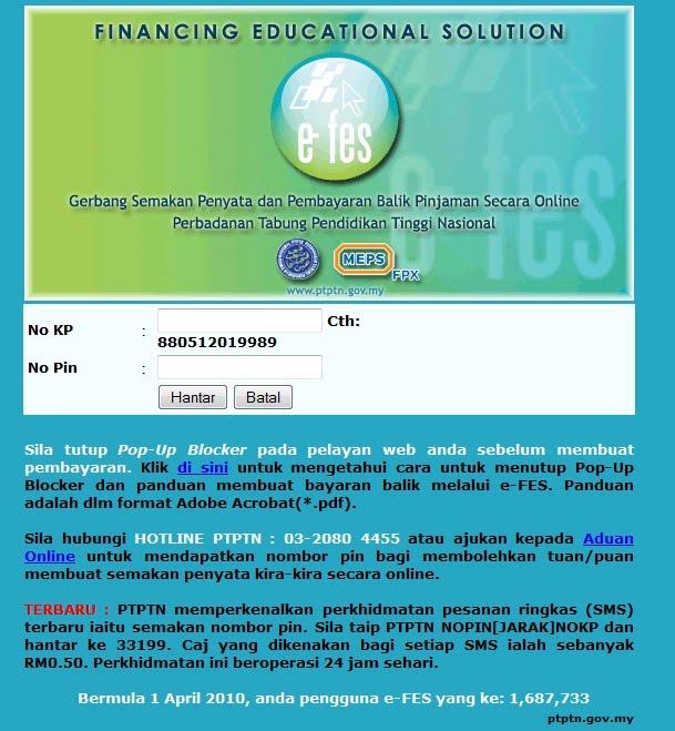 ptptn questionnaire loan among student