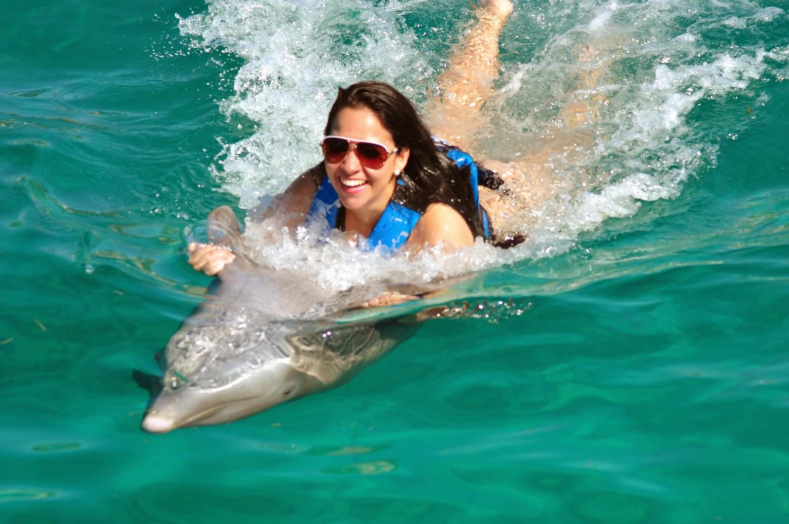 passeio com golfinhos em isla mujeres - cancun