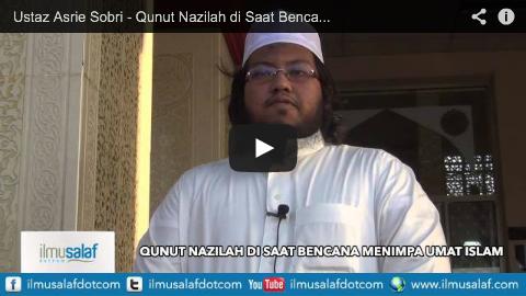Ustaz Asrie Sobri – Qunut Nazilah di Saat Bencana Menimpa Umat Islam #Gaza #MH17