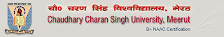 CCS University Meerut bsc part 2 result 2012