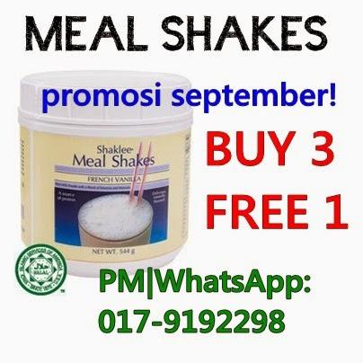 promosi mealshakes
