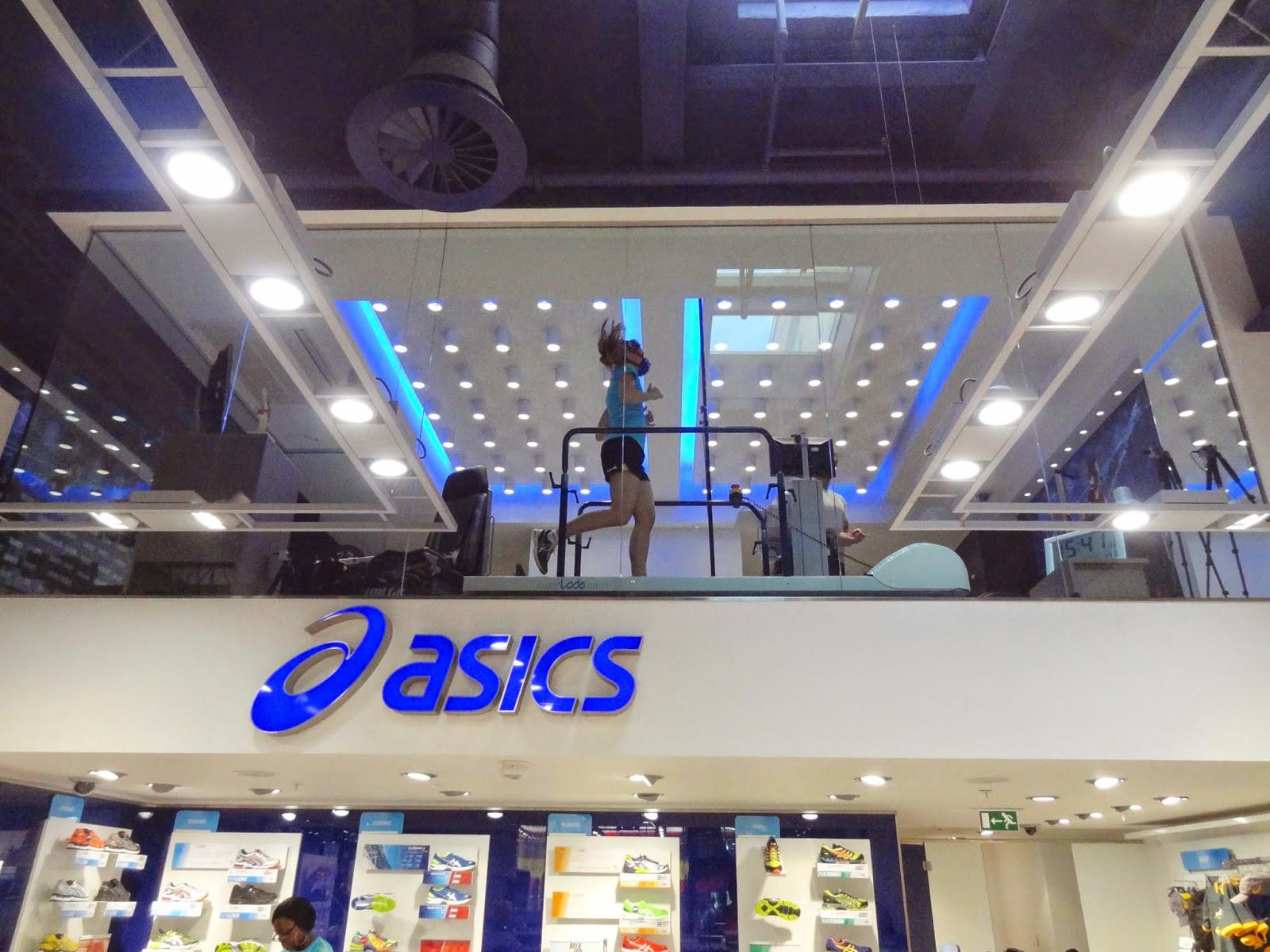 Asics Running Lab Treadmill