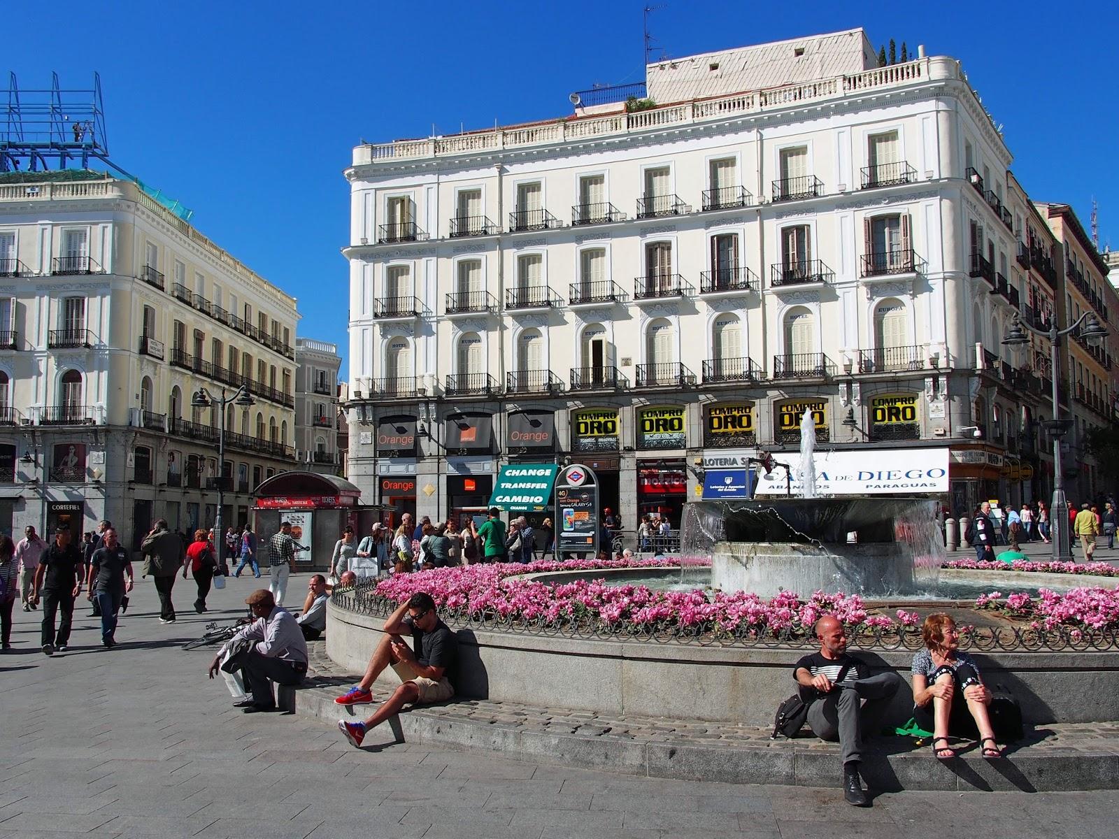 Madrid 2014 Puerta Del Sol