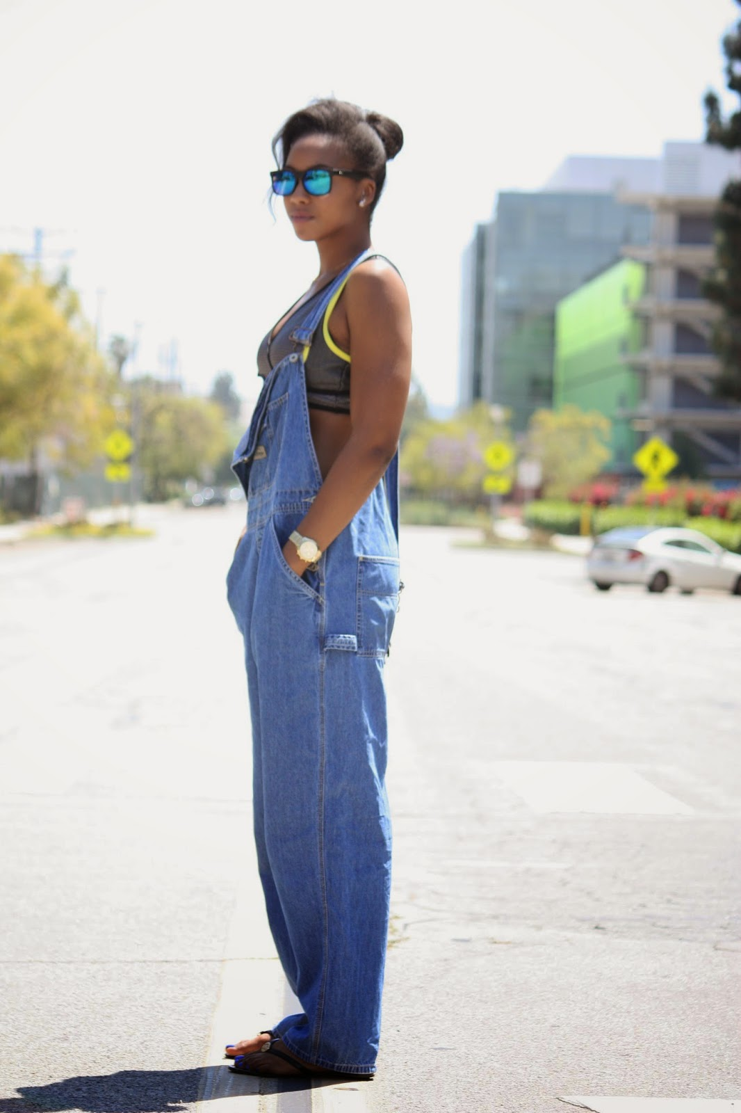 Spring summer denim overall trend