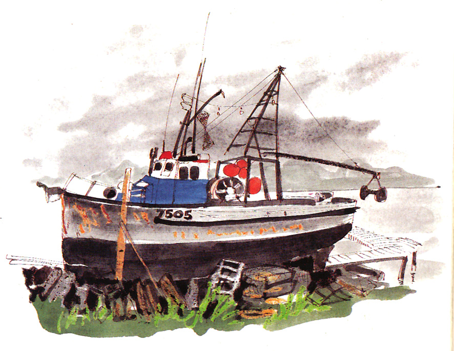 Robert fishing boat blueprints how to building plans for Build fishing boat