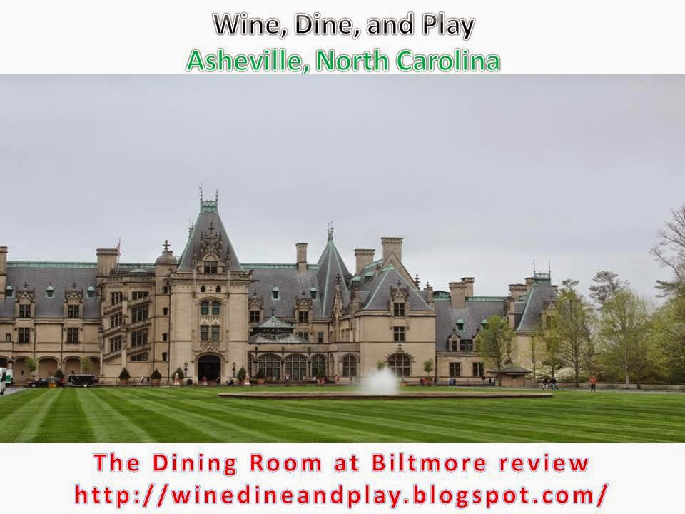remember also that you must have tickets to enter the park if youre just going for dinner - The Dining Room Biltmore Estate