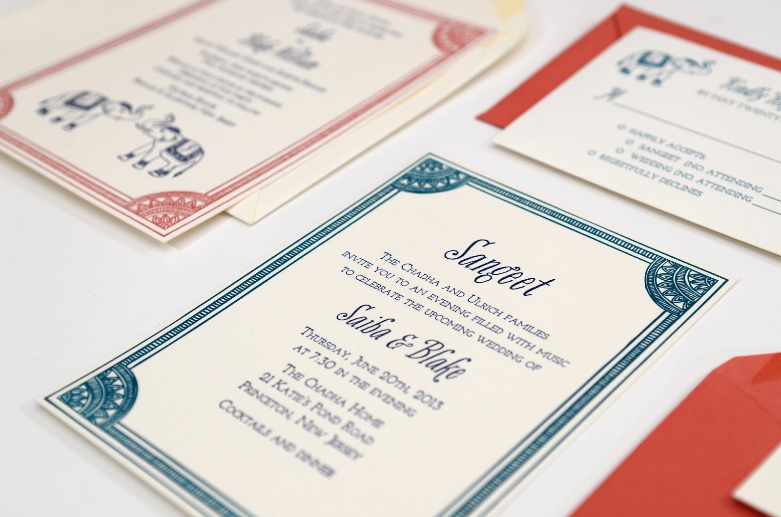 Custom Wedding Invitations ~ Catalog Printers
