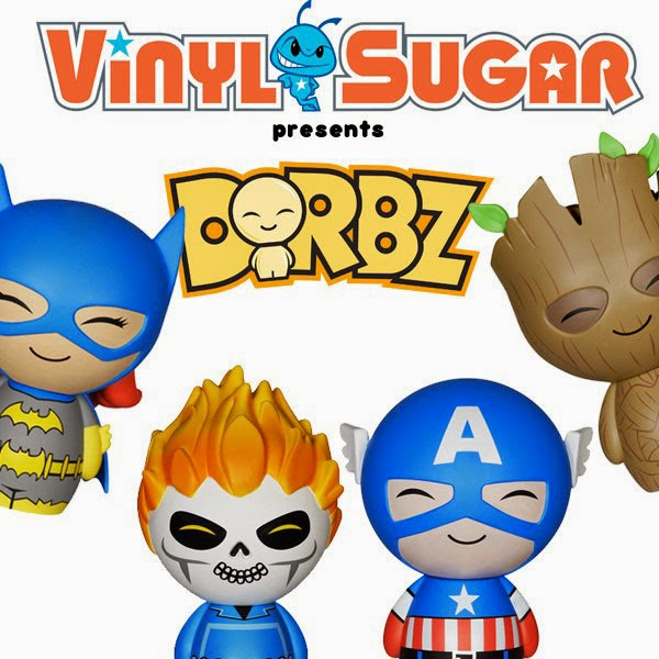 "Coming Soon: ""Dorbz"" Marvel & DC Comics Vinyl Figures by Vinyl Sugar (aka Funko)"