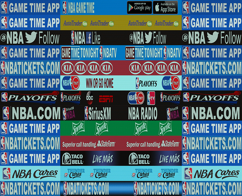 NBA 2K14 OKC Thunder Playoffs Dornas Mod