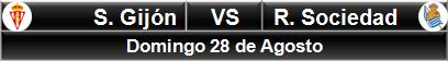 Sportig Gjón vs Real Sociedad